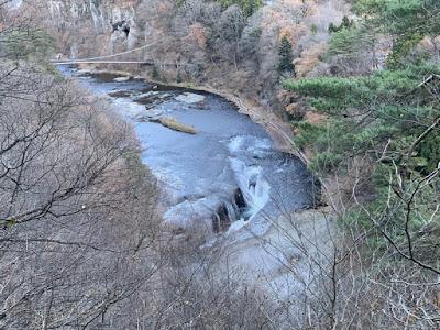 第1観瀑台から見る吹割の滝
