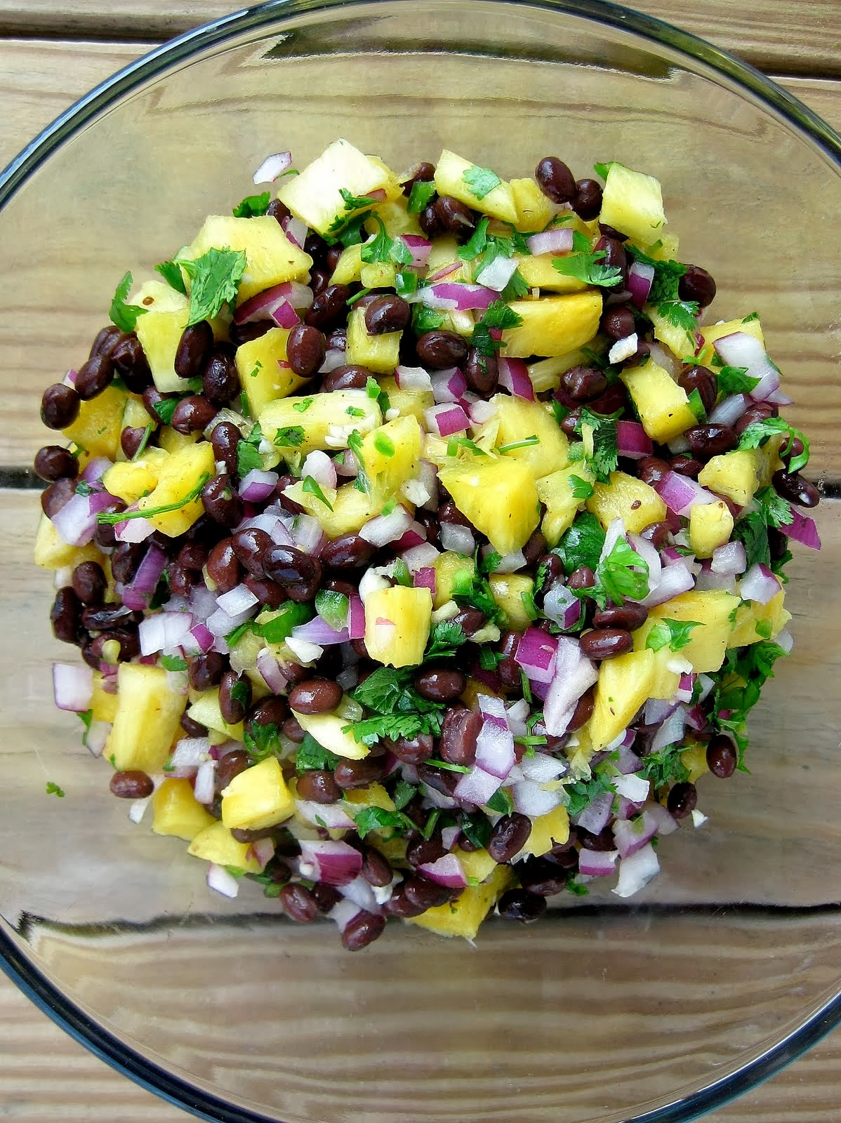 Pineapple Black Bean Salsa Recipe