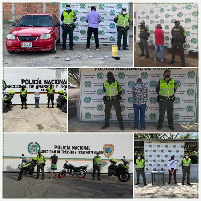 hoyennoticia.com, Seis capturados en las vías de La Guajira