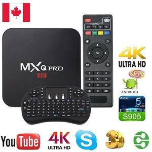 Mxq Pro 4k Amlogic S905x Android 6 0 سعر Android Tv Box