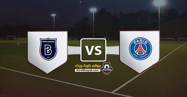 نتيجة مباراة باريس سان جيرمان وباشاك شهير اليوم الثلاثاء 8 ديسمبر 2020 في دوري أبطال أوروبا
