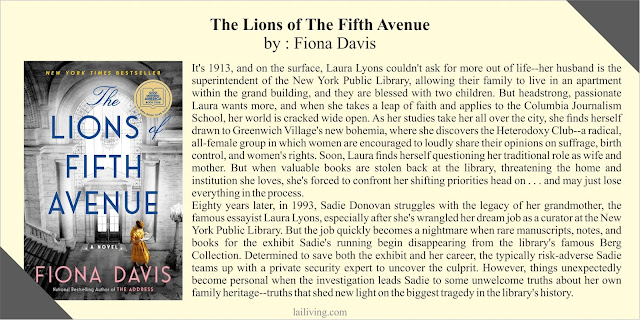 The Lions of The Fifth Avenue Fiona Davis