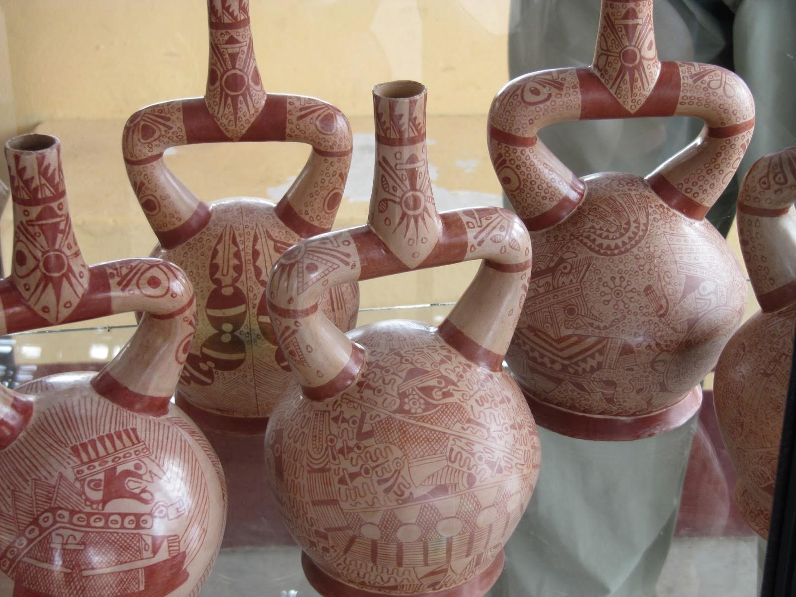 The ceramics of the moche
