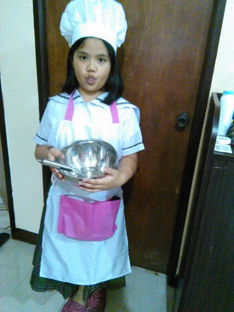 little baker or chef costume