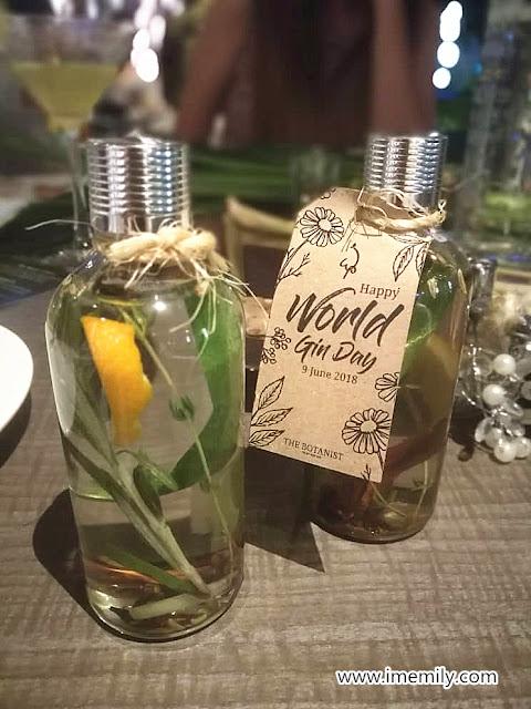 The Botanist Gin @ WIP Bangsar