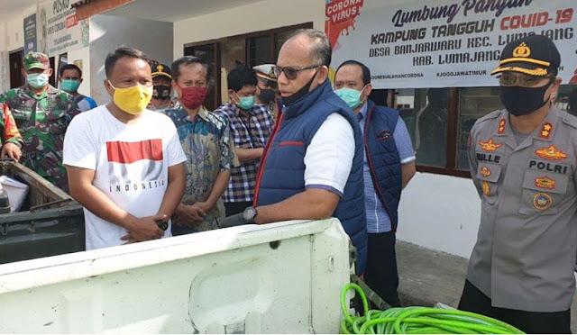 Jajaran Polda Jatim berkunjung ke Desa Banjarwaru
