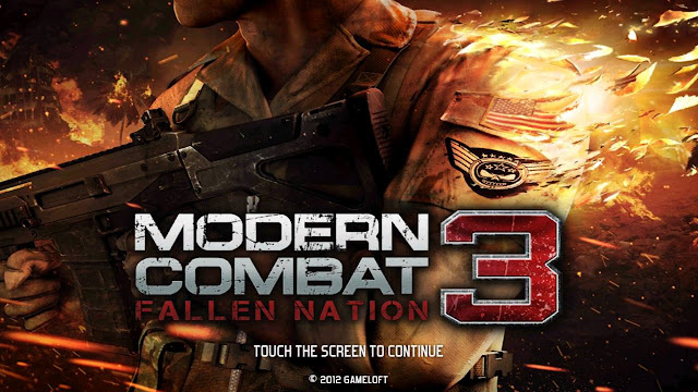 تحميل لعبة modern combat 3 مودرن كومبات 3 MC3 للاندرويد مجانا وبرابط ميديا فاير