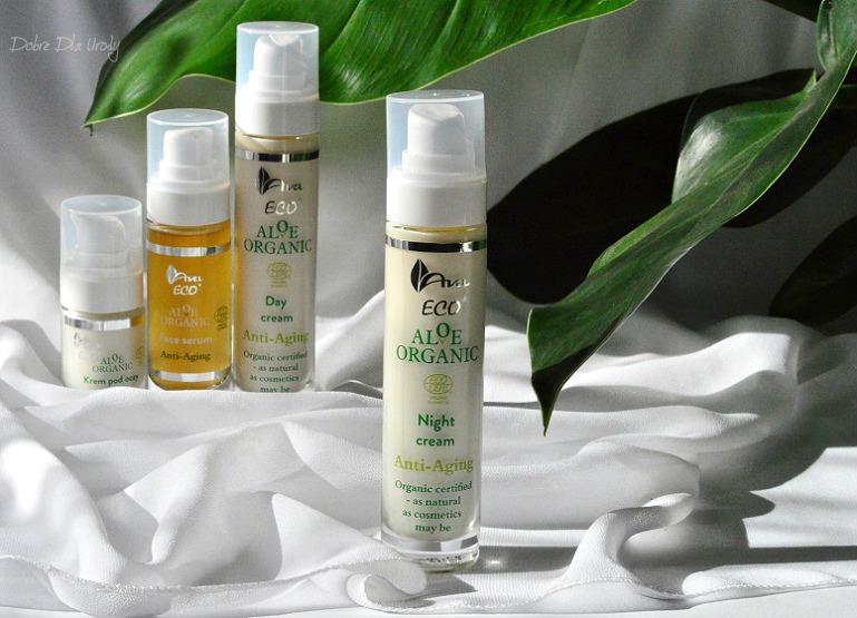 Aloe Organic - Aloesowy Krem na noc anti-aging