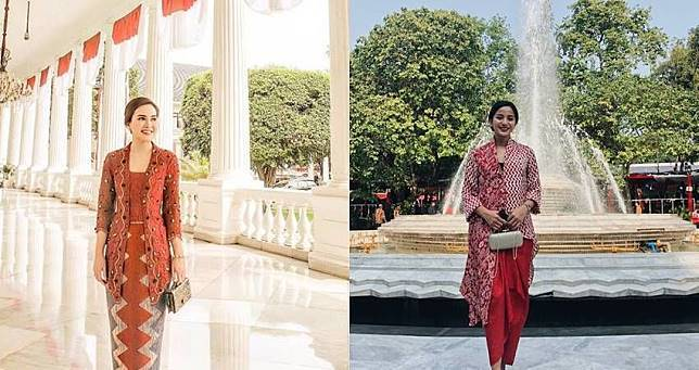 Dibuang Sayang! Ini 11 Gaya Kece Seleb Hadiri Upacara Kemerdekaan Di Istana Negara
