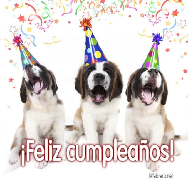 TarjeTarjetas de feliz cumpleaños con perros  s de feliz cumpleaños con perros