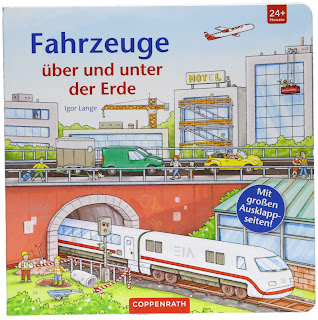 Pappbilderbuch für Kinder ab 2 Jahre:  Igor Lange - Fahrzeuge über und unter der Erde