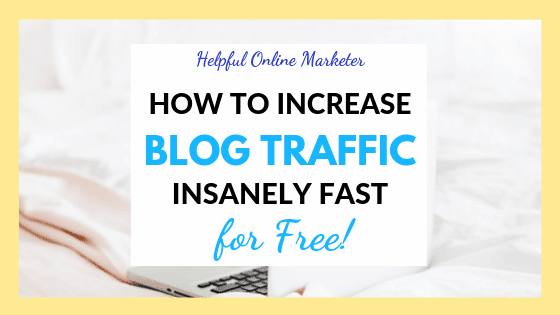 How to Increase Blog Traffic Insanely Fast for Free!