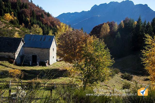 Alpe Blitz in autunno