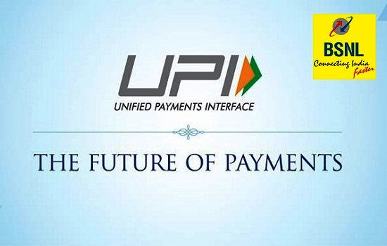 BSNL to offer additional free data to Landline, Broadband and Bharat Fiber (FTTH) customers for UPI payment of bills through BSNL Payment Portal