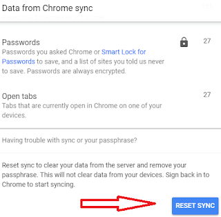 How to Recover Lost Password from Sync devices