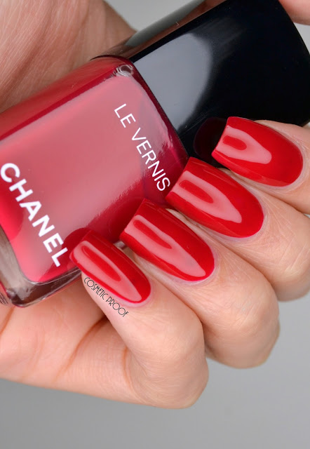 Longwear Nail Colour Chanel #508 Shantung Swatch