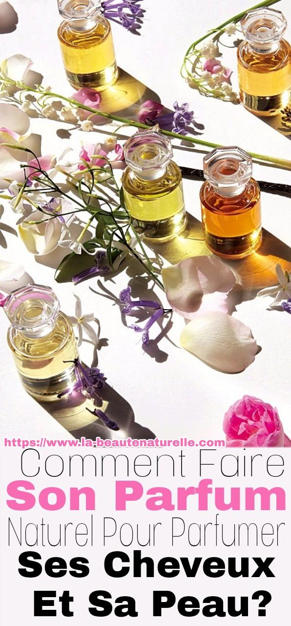 Comment faire son parfum naturel pour parfumer ses cheveux et sa peau?
