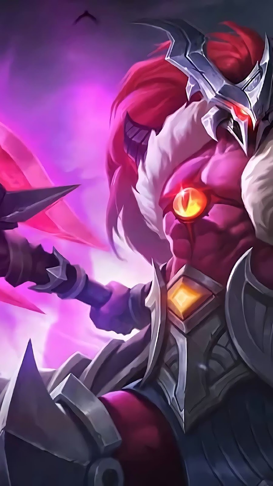 Wallpaper Hylos Phantom Seer Skin Mobile Legends HD for Android and iOS