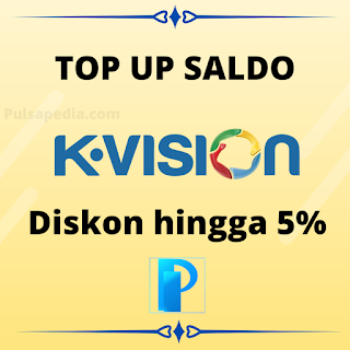 Cara Top Up Saldo KVision Online