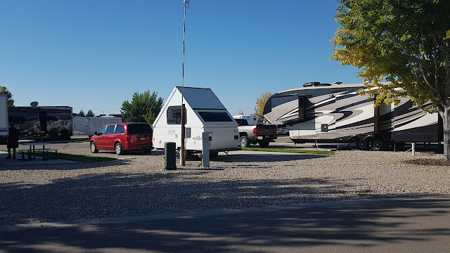 Parked in a sea of big-ass motorhomes...