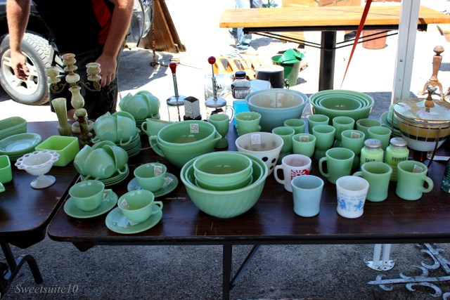 a large and varies collection of Jadeite