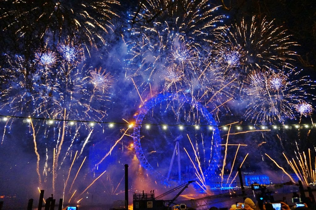 Fireworks in London 2016/2017