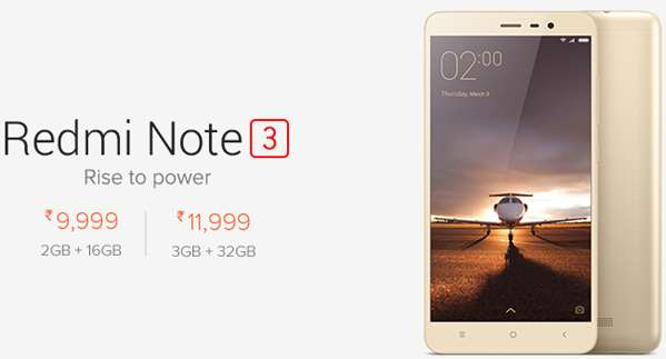 Redmi Note3