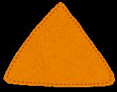 布のマークのイラスト「三角」