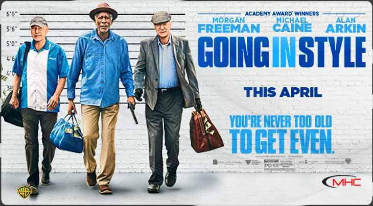 Movie Review Mom: Going In Style Showcases 3 Legendary