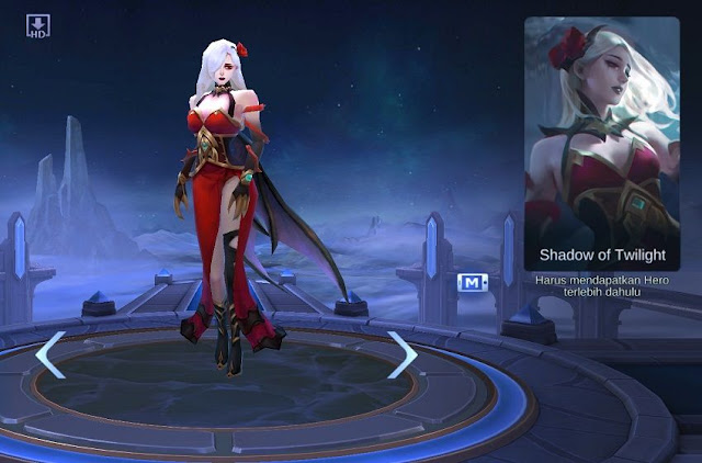 hero baru Carmilla Mobile Legends