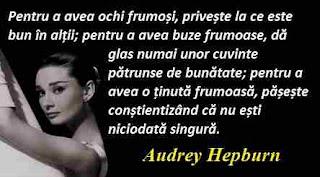 Maxima zilei: 4 mai - Audrey Hepburn