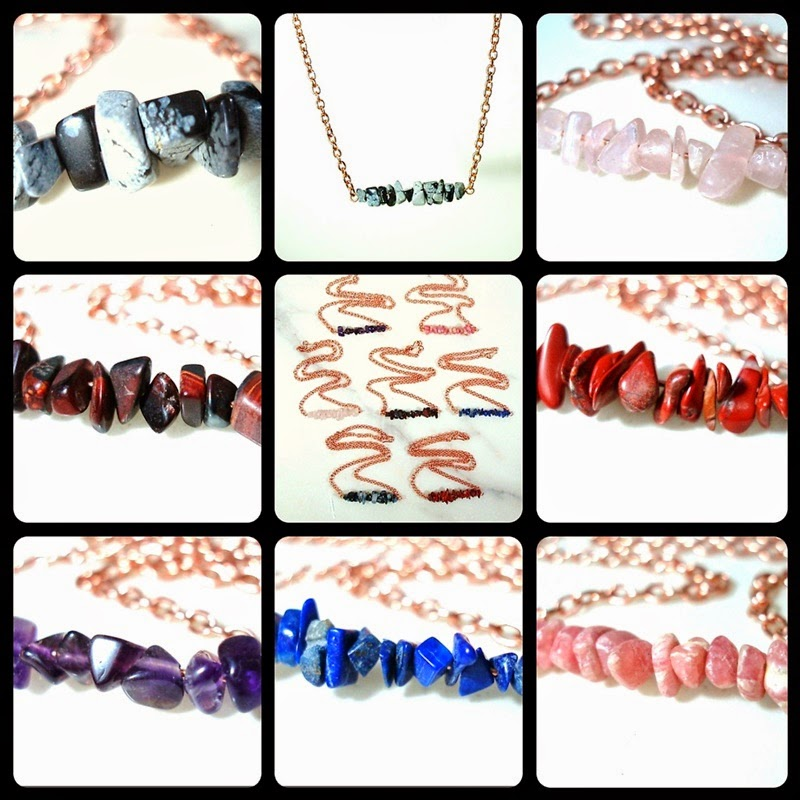 Enter to win a handmade gemstone necklace by Blue Copper Jewelry Designs