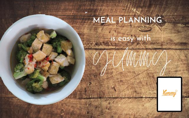 Nggak bingung masak apa hari ini karena yummy app