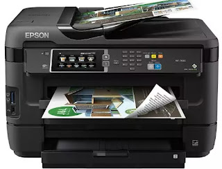Epson WorkForce WF-7620 Printer Driver Download