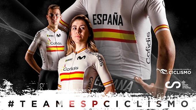 La Selección Española de ciclismo presenta su nueva equipación