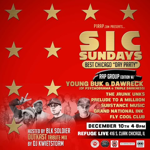 CHICAGO EVENT>> SIC Sundays w/ Young Buk and Dawreck