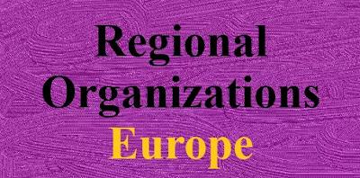 Regional Organizations - Europe