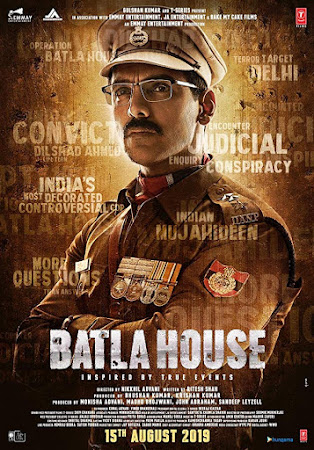 Poster Of Bollywood Movie Batla House 2019 300MB Pdvd Full Hindi Movie