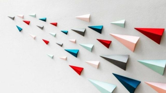 289 Cara Membuat Hiasan Dinding Kamar Dari Kertas Kado