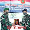 Jalankan Protokol Kesehatan Kasdam Hasanuddin Pimpin Sertijab Perwira Liason TNI AL serta Penyerahan Tugas Jabatan Kapendam dan Kasetumdam