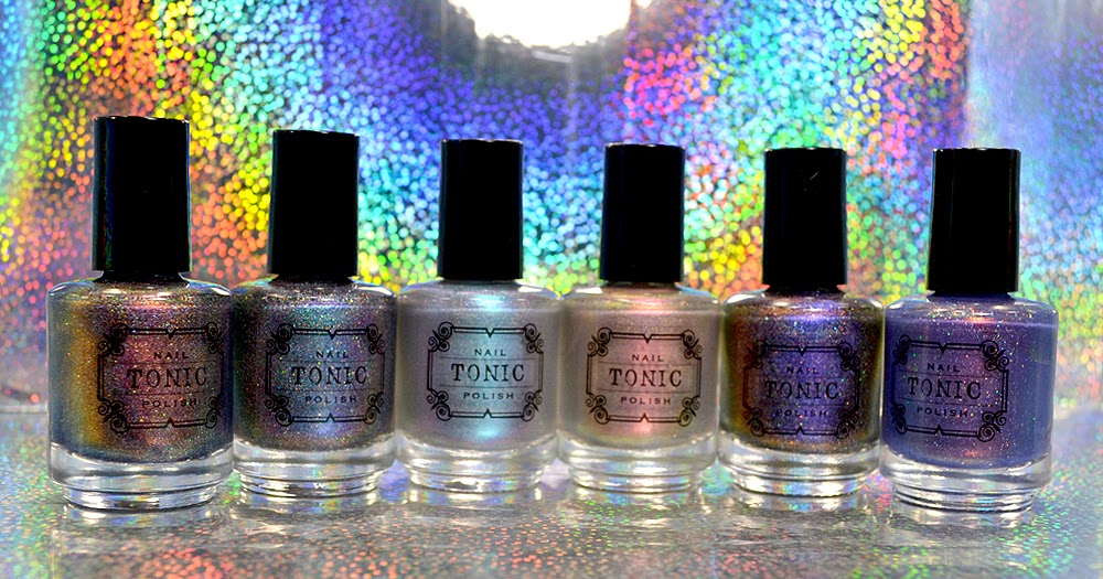 Tonic Polish: Holiday 2016 Collection | Pretty Lush Nails