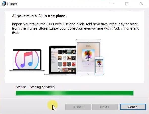 تحميل iTunes للكمبيوتر ويندوز 7