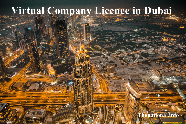 Virtual Company Licence in Dubai