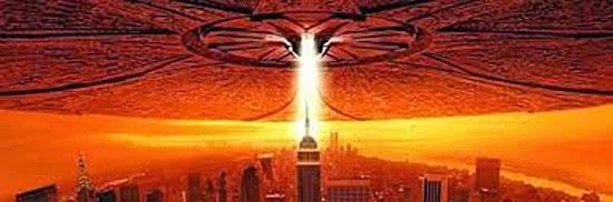 Destruição Alien - Filme Independence Day