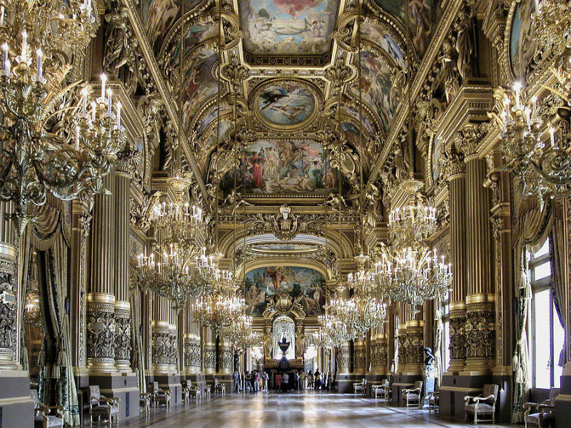 Grand Foyer de la Ópera Garnier