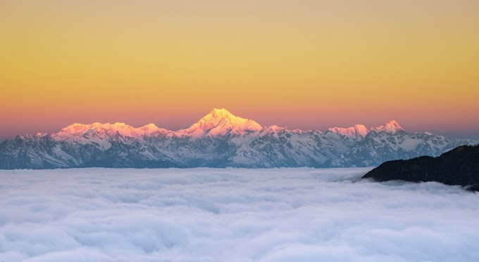 Snowy Mornings — at Mount Kanchenjunga.