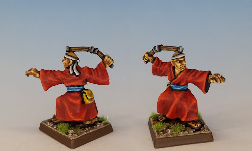 Talisman Martial Artist, Citadel Miniatures (1987, sculpted by Aly Morrison)