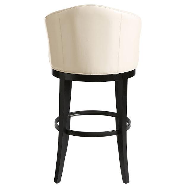 барный стул. вид сзади