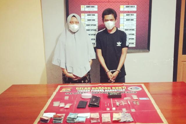 Polisi tangkap kakak adik pengedar sabu di Bima