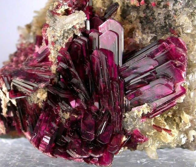 Incredible Erythrite Crystals From Morocco